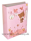 SWEET TEDDY PINK  O100  10x15