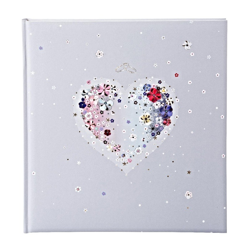 W HEARTS OF FLOWERS ALBUM P60st.  30x31 TURNOWSKY