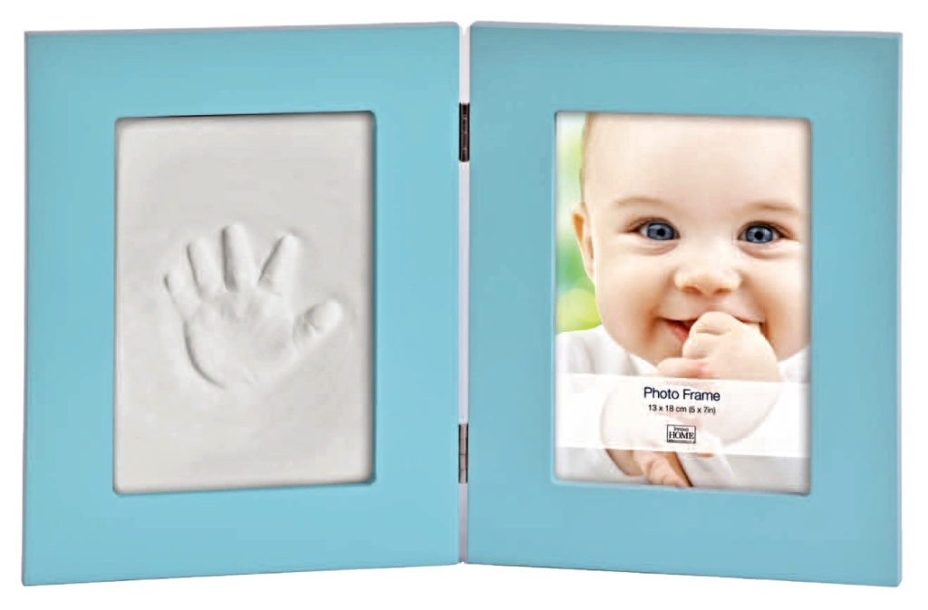 BABY KEEPSAKE KIT BLUE 13x18