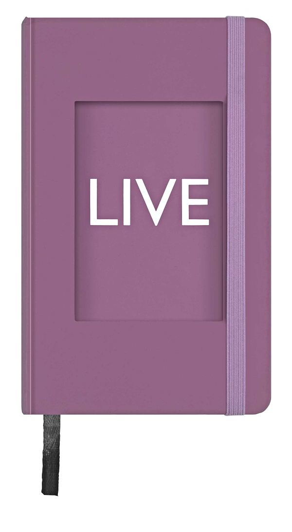 PHOTO NOTEBOOK 120 pages LILAC