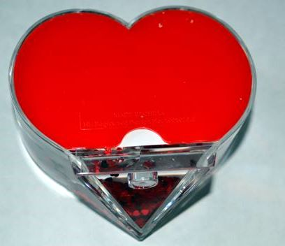 PHOTO GLOBE NEW HEART 9x7