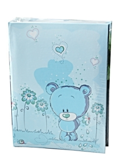 LOVE TEDDY BLUE K4  O100   10x15