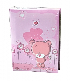 LOVE TEDDY PINK K2  O100   10x15   E