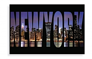 NEW YORK GLASS ART 40x60