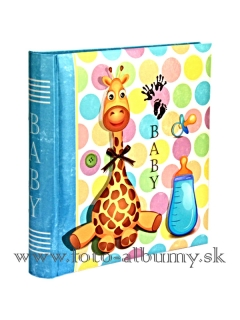 GIRAFE BLUE  BB200  10x15