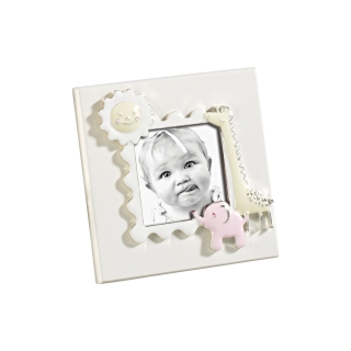 A899  FRAME BABY PINK 6x6