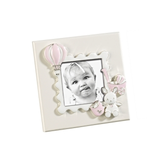 A898  FRAME BABY PINK 6x6