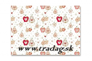 Baliaci papier apple & pear 50x70cm