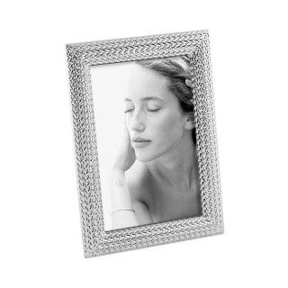 FOTORÁMIK A690 TRICOT 10x15 silver plated